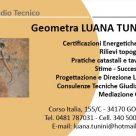 GEOMETRA LUANA TUNINI