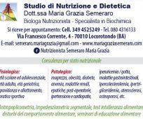STUDIO DI NUTRIZIONE E DIETETICA DOTT.SSA SEMERARO