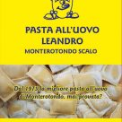 PASTA ALL'UOVO LEANDRO