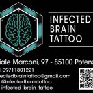 INFECTED BRAIN TATTOO