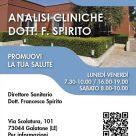 ANALISI CLINICHE DOTT. F. SPIRITO