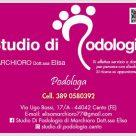 STUDIO DI PODOLOGIA MARCHIORO DOTT.SSA ELISA