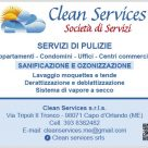 CLEAN SERVICES
