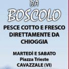 PESCHERIA DA BOSCOLO