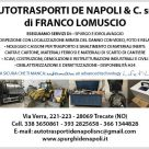 AUTOTRASPORTI DE NAPOLI & C.