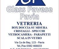 GLASS PAVESE PAVIA