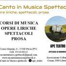 INCANTO IN MUSICA SPETTACOLI - APE TEATRO