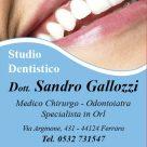 DOTT. SANDRO GALLOZZI