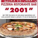PIZZERIA RISTORANTE 2001