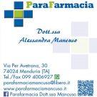 PARAFARMACIA DOTT.SSA ALESSANDRA MANCUSO