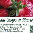 DAL CAMPO AL BANCO