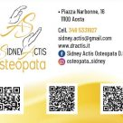 DR. SIDNEY ACTIS OSTEOPATA