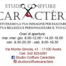 STUDIO COIFFURE CARACTÈRE