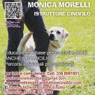 MONICA MORELLI ISTRUTTORE CINOFILO