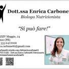 DOTT.SSA ENRICA CARBONETTI BIOLOGA NUTRIZIONISTA
