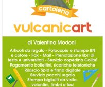 CARTOLERIA VULCANIC ART
