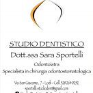STUDIO DENTISTICO DOTT.SSA SARA SPORTELLI