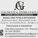 GAUDENZI & ANDRUCCIOLI STUDIO LEGALE ASSOCIATO