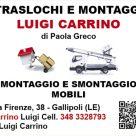 TRASLOCHI E MONTAGGI LUIGI CARRINO