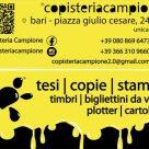 COPISTERIA CAMPIONE