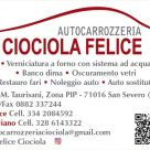 AUTOCARROZZERIA CIOCIOLA FELICE