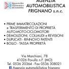 AGENZIA AUTOMOBILISTICA FRIGNANO