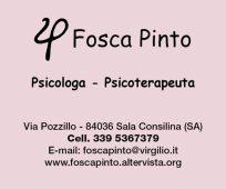 FOSCA PINTO PSICOLOGA - PSICOTERAPEUTA