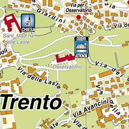 Cartina Geografica Trento.Geoplan It Cartografia Aggiornata Dei Comuni Italiani