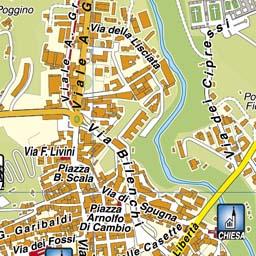 Centro Storico Cartina Geografica Roma.Geoplan It Cartografia Aggiornata Dei Comuni Italiani