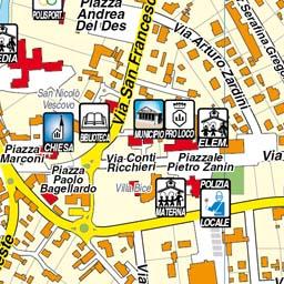Cartina Veneto Comuni.Geoplan It Cartografia Aggiornata Dei Comuni Italiani