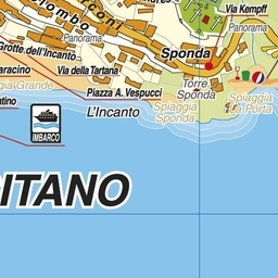 Costiera Amalfitana Cartina Stradale.Geoplan It Cartografia Aggiornata Dei Comuni Italiani