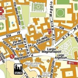 Roma Centro Cartina.Geoplan It Cartografia Aggiornata Dei Comuni Italiani