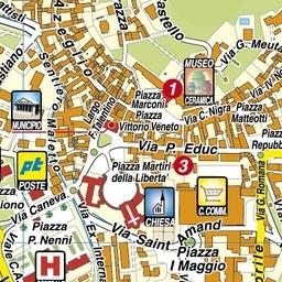 Centro Ceramica Di Sacco Lorenzo C Snc.Geoplan It Cartografia Aggiornata Dei Comuni Italiani